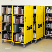 Book trolley for ordered transport