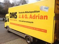 One of Adrian's removal lorries