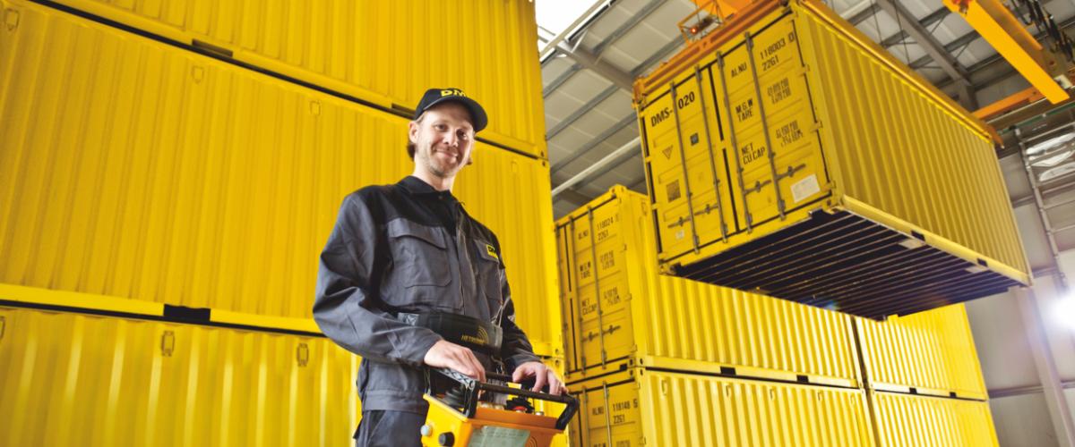 Mobile Containerlagerung in Wiesbaden und weltweit