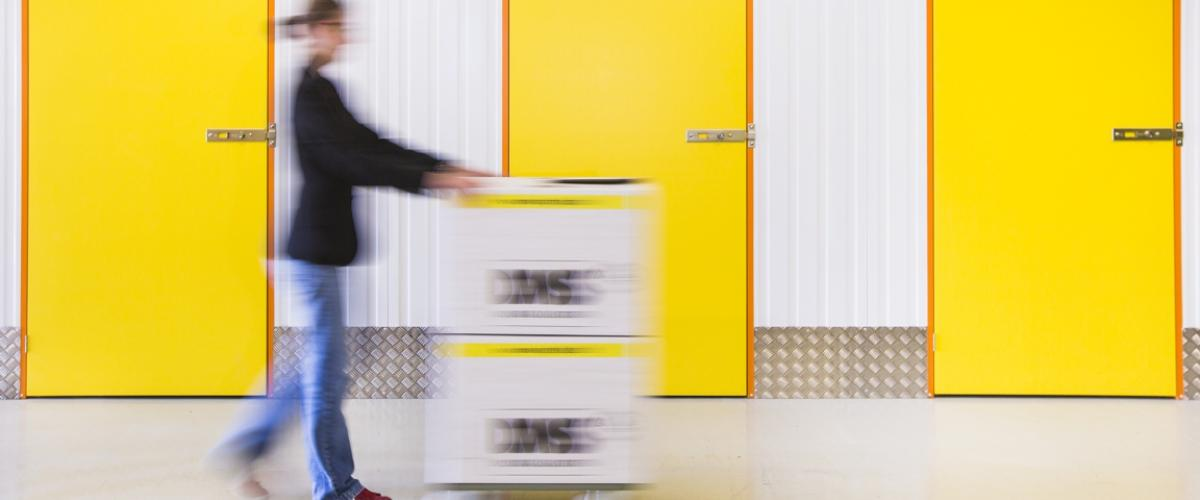 You can place your furniture in temporary storage in our self-storage warehouse