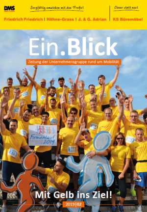 Kundenzeitschrift der Firmengruppe J. und G. Adrian Wiesbaden