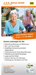 Flyer: Moves für Senior Citizens